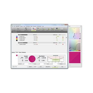 process control software suite / reporting / color