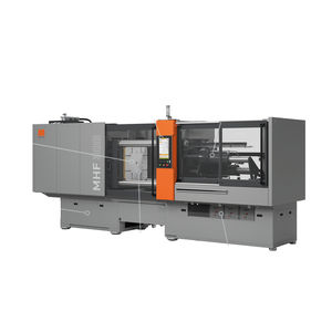 horizontal injection molding machine / hydraulic / for rubber