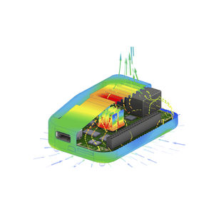 CAD software / thermal analysis / thermal simulation / industrial