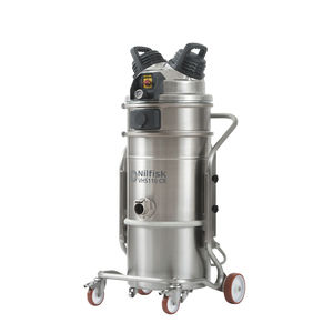 wet and dry vacuum cleaner / single-phase / industrial / for clean rooms