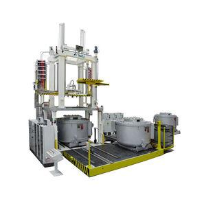 low-pressure die casting machine / for engine parts / for automobile suspension parts / for aluminum