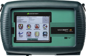 power quality analyzer / portable / monitoring / continuous