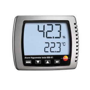 digital thermo-hygrometer / portable / dew-point / relative humidity