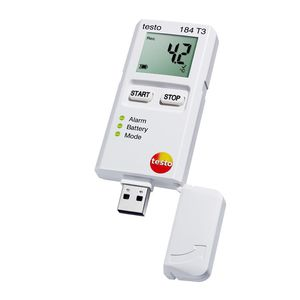 temperature data-logger / USB / with LCD display / for food applications