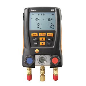 pressure gauge with LCD display / electronic
