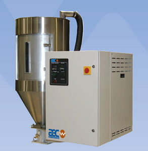 desiccant dryer / batch / for plastic pellets / dehumidifying