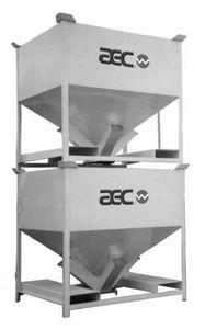 aluminum IBC container / for bulk materials / transport