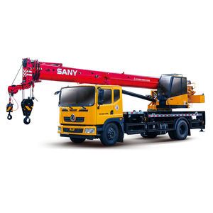 truck-mounted crane / for construction / lifting
