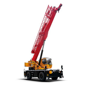 mobile crane / for construction / rough terrain / lifting
