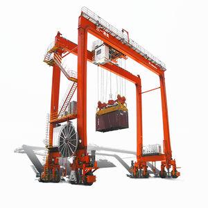 rubber-tired gantry crane