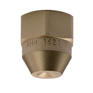 spray nozzle / for liquids / full-cone / stainless steel