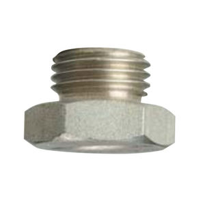 spray nozzle / for liquids / flat spray / plastic