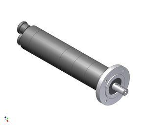 rotary piston air motor