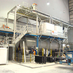 powder mill production line