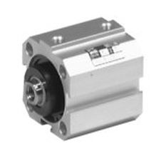 pneumatic cylinder / double-acting / compact / ISO