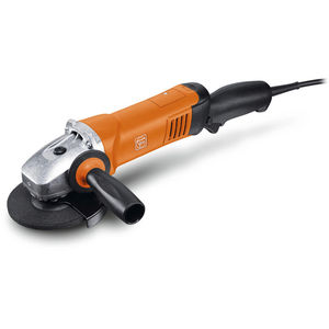 electric portable grinder / compact / ergonomic / angle