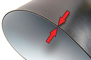 rubber-bonded ferrite magnetic sheet