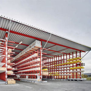 cantilever shelving / for long items / exterior