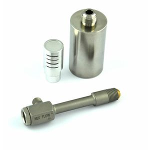 stainless steel vortex tube / for hot air / for cold air / for spot cooling