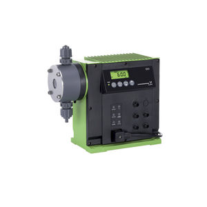 water pump / for chemicals / for biofuels / stepper motor-driven