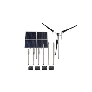 water pumping unit / solar / centrifugal / electrically-powered