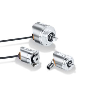 incremental rotary encoder / solid-shaft / hollow-shaft / with clamping flange