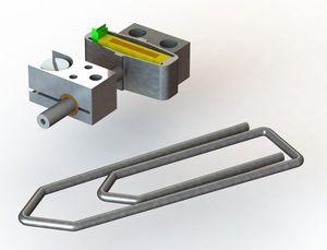linear piezoelectric motor