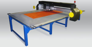 fabric cutting machine / textile / CO2 laser / blade