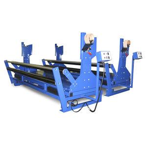 fabric unwinder / roller