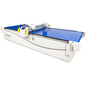 composite material cutting machine / for fiberglass / textile / rotary blade