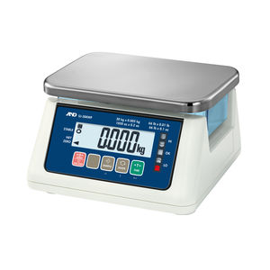 waterproof scale / benchtop / multifunction / compact