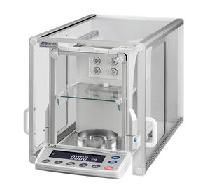 laboratory balance / micro / analytical / with LCD display