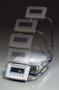 precision balance / laboratory / with detachable indicator / industrial