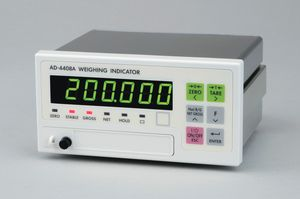 LED display weight indicator / panel-mount / IP65