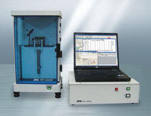 viscoelasticity testing machine / materials / vertical / mechanical