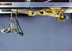electric manipulator / with hoist / with suction cup / for boom cranes