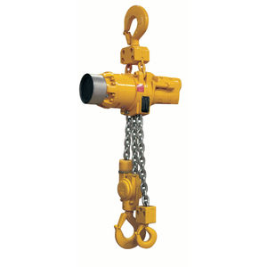 air-operated chain hoist / heavy-duty / compact / explosion-proof
