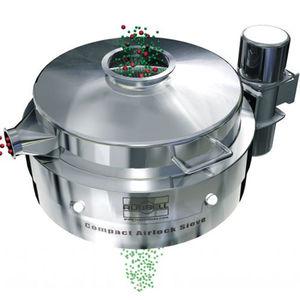 circular vibrating screener / particle / for bulk materials / for pellets