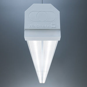 ceiling-mounted lighting / LED / for industrial applications / maintenance-free