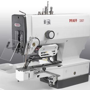 button sewing machine / single-thread / chain stitch / electronic