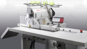 single-needle sewing machine / double chain stitch / automatic / for jeans