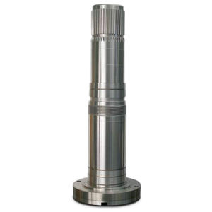 spindle shaft / splined / single / precision