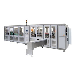 automatic packaging machine / in-line / paper napkin / compact