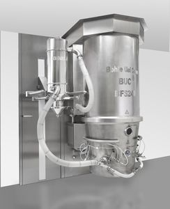 fluidized bed granulator / for pharmaceutical applications