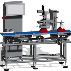automatic weighing-labeling machine