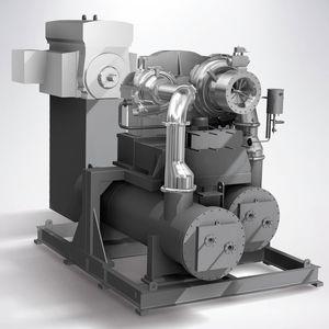 stationary turbo-compressor