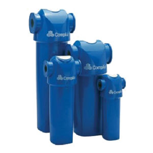 compressed air filter / cartridge / compact / modular