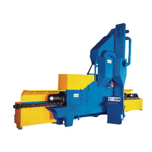 roller shot blasting machine / for springs