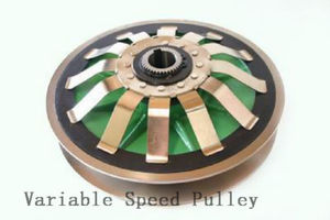 pulley with taper bushing / belt / adjustable / variable