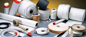 silica fiber / fabric / for thermal insulation